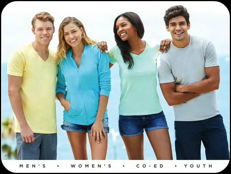 Vis Movement Apparel Catalog   Comfort Colors, Bella Canvas, Next Level
