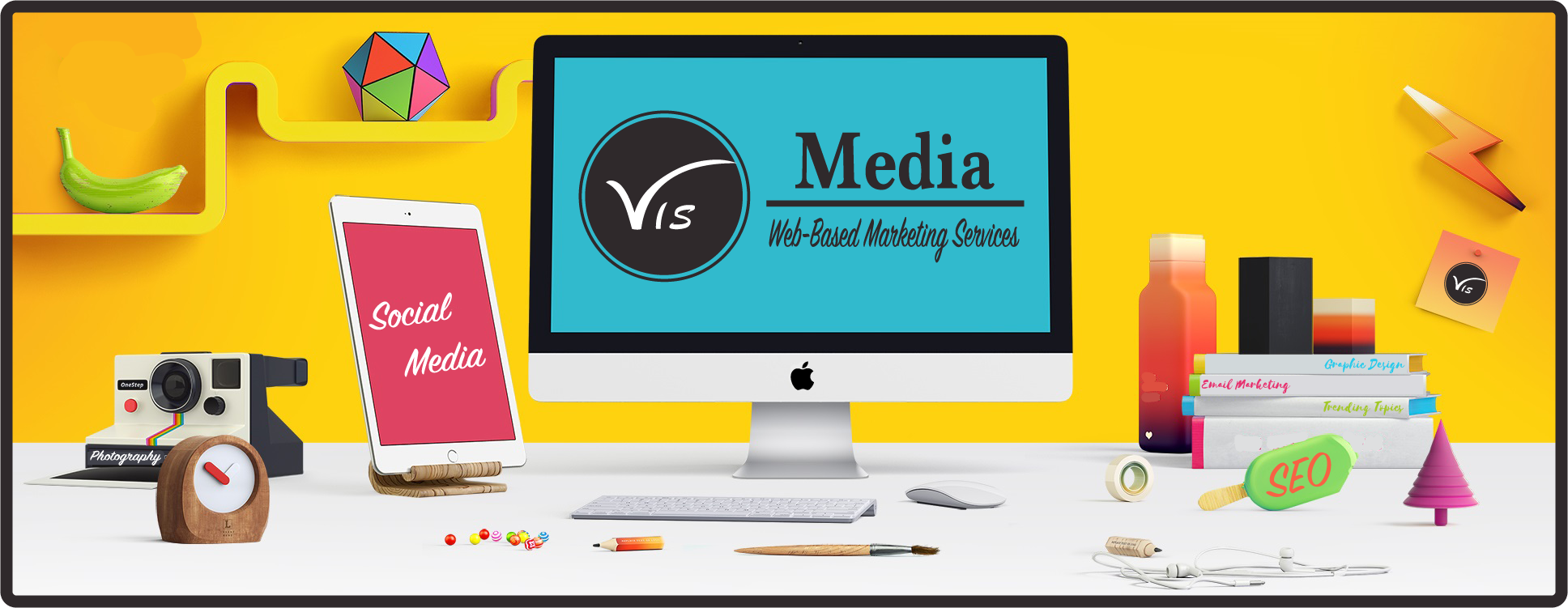 Website Design, Social Media Marketing, Search Engine Optimization